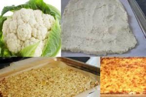 Cauliflower Pizza Crust -by Onnit